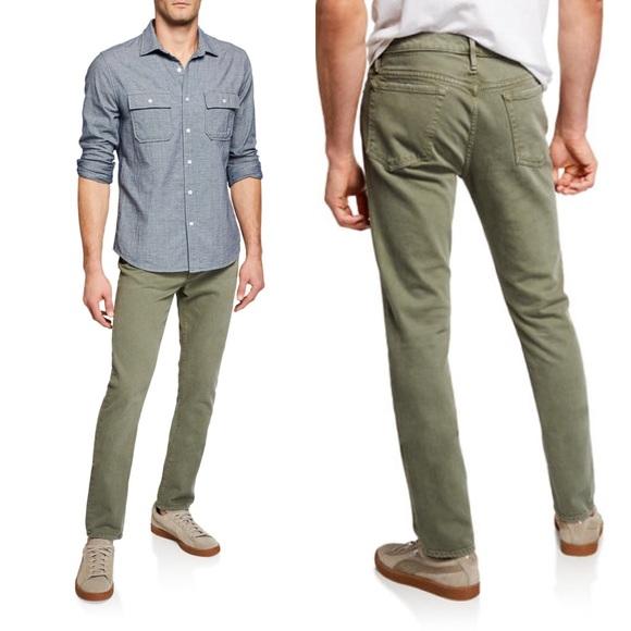 Frame Denim Other - FRAME L'Homme Slim Green Denim Pants